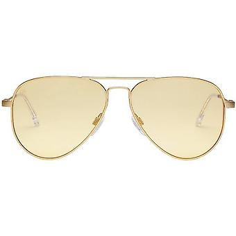 Electric California AV1 Sunglasses - Light Gold/Clear Pro