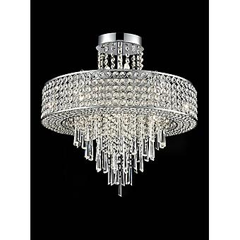 Ceiling Light Chrome Duchess 12 Bulbs