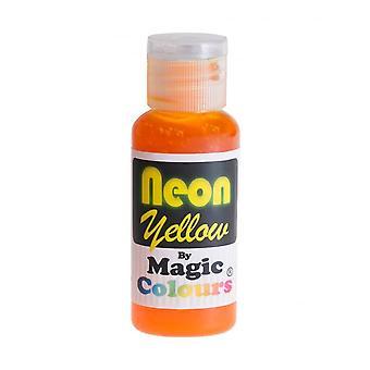 Couleurs magiques - Jaune néon - 32g
