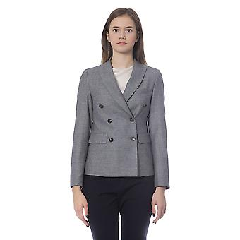 Grey Jacket Peserico Women