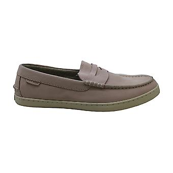 Cole Haan Womens Pinch Weekender Fabric Almond Toe Loafers