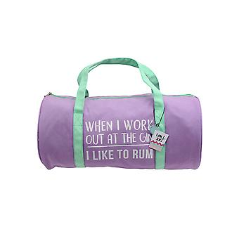 CGB Giftware Gym And Tonic I Like To Rum Duffle Bag
