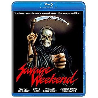 Import USA week-end Savage [Blu-ray]