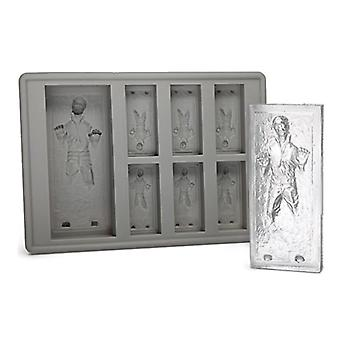 Star Wars Han Solo in Carbonite Siliconen Ice Mold - Mini Ice Cube Tray