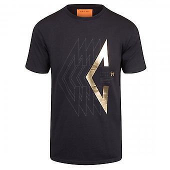Cruyff Herren T-shirt ZwartGoud CA3390203090