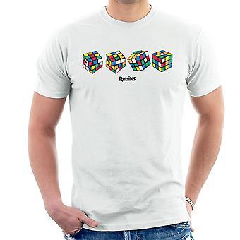 Rubik's 4 Cubes Men's T-Shirt