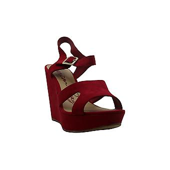 American Rag Womens Rochelle Leather Peep Toe Casual Platform Sandals
