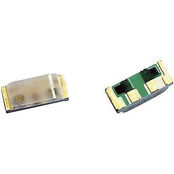 برودكوم HSMF-C115 SMD LED (متعدد الألوان) غير القياسية الأحمر والأخضر والأزرق 80 mcd، 170 mcd، 60 mcd 125 ° 20 mA، 20 mA، 20 mA 1.9 V، 3.4 V، 3.4 V الشريط قطع