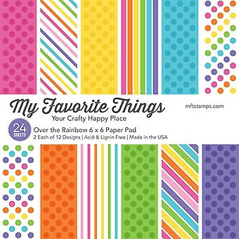 My Favorite Things Over the Rainbow 6x6 Inch Paper Pack