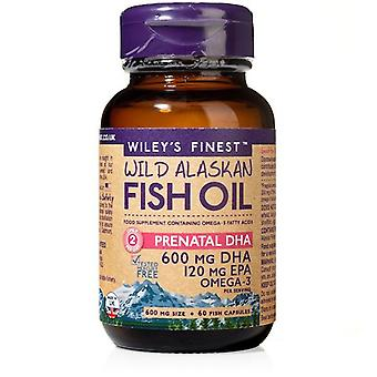 Wiley's Finest PrénatalE DHA 720mg Capsules 60