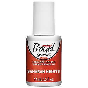 SuperNail ProGel Gel Nail Polish - Saharan Nights 14ml