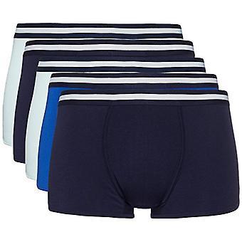 find. Men's Hipster Briefs, Pack of 5, Navy, Wash Blue, Royal, Large