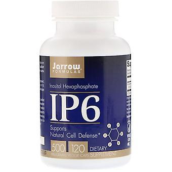 Formules Jarrow, IP6, Hexaphosphate d'inositol, 500 mg, 120 bonnets végétariens