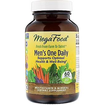 MegaFood, Men's One Daily, 60 Tablets