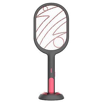 Electric Insect Racket Usb Rechargeable Mosquito Swatter Kill Fly Bug Zapper Killer Trap