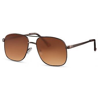 Sunglasses Unisex Pilot gold/brown (CWI2436)