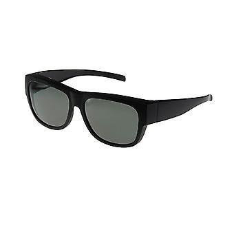 Sunglasses Unisex black with grey lens VZ0024A