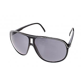 Sunglasses Unisex black with black lens (A40123)