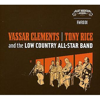 Clements/Rice/Low Country All-Star Band - Vassar Clements/Tony Rice & the Low Country All-st [CD] USA import