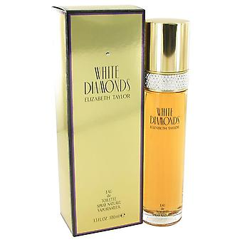 White Diamonds Eau De Toilette Spray By Elizabeth Taylor 3.3 oz Eau De Toilette Spray