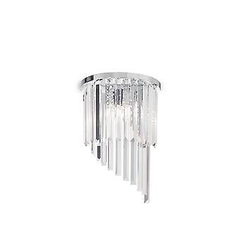 Idealny Lux Carlton - 3 światło świetlne chromowane, E14