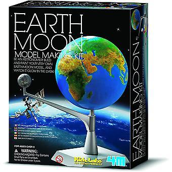 Kit modèle de modèle de modèle de grand musée de science de Gizmos de terre