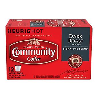 Community Coffee Dark Roast Coffee Keurig K Cup