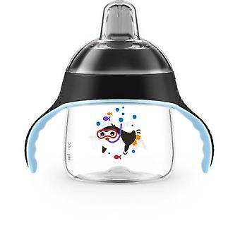 Avent Leak-Free Penguin Cup 200mm Schwarz