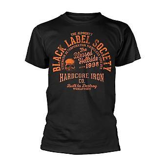 Musta Label Society Hardcore Hellride T-paita