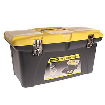 Stanley Tools Jumbo Toolbox + Tray 55cm (22in) STA192908