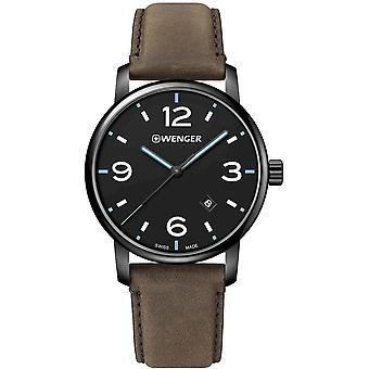 Wenger - Wristwatch - Unisex - Urban Metropolitan - 01.1741.135 - black, 42 mm