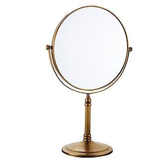 Brass Makeup Mirror