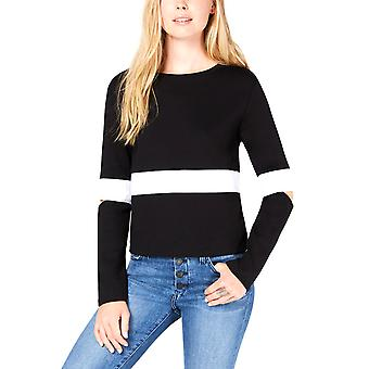 Bar III | Striped Long Sleeve Jewel Neck Sweater