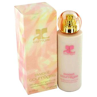 Sweet courreges body lotion by courreges 423319 200 ml