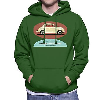 Morris Minor 1000 Its The Car Called Success British Motor Heritage Men's Hooded Sweatshirt