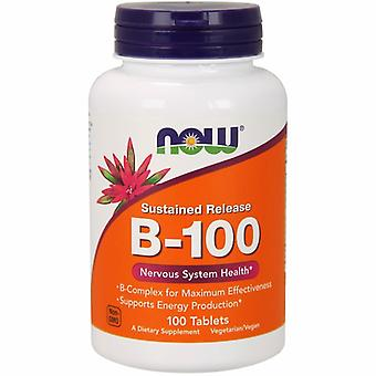 Now Foods Sustained Release B-100, 100 Tabletten