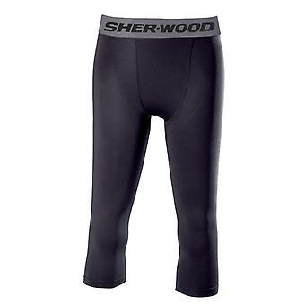 SHER-WOOD Clima Plus 3/4 Compression Pants Senior