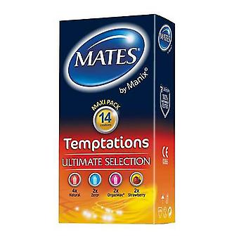 Mates temptations condoms 14 pack