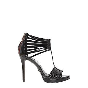 Michael By Michael Kors 40r8leha1a001 Women's Black Leather Sandals