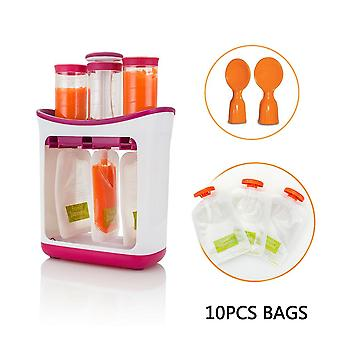 Baby Food Maker, Squeeze Organic Food Machine, Kids Fresh Fruit Juice Feeding
