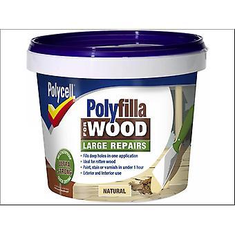 Polycell Polyfilla Wood General Repairs Natural 375g x 2