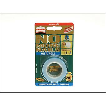 Unibond No More Nails Instant Double Sided Tape 1.5m