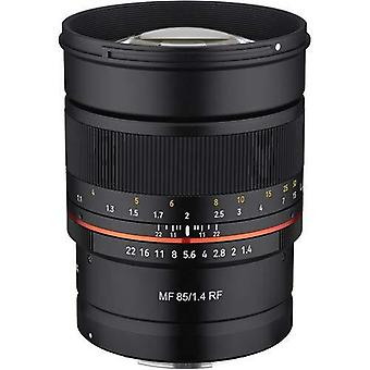 Rokinon 85mm f1.4 umc, weather sealed manual focus lens for canon eos rf