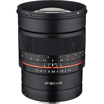 Rokinon 85mm f1.4 umc, lentille de mise au point manuelle scellée météo pour canon eos rf