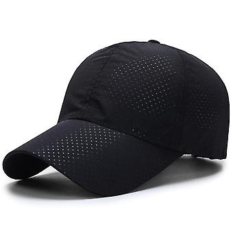 Casquette de golf & Femmes, Summer Thin Mesh Portable Quick Dry Breathable Baseball Hat