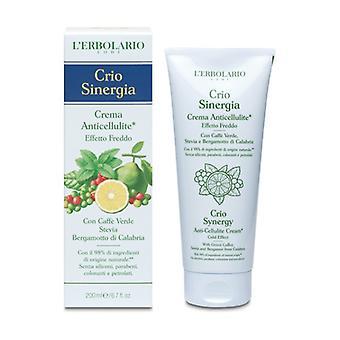 Crio Sinergia Anti-Cellulite Cream Cold Effect 200 ml of cream