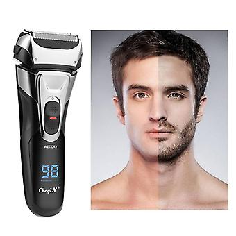 Cordless usb beard trimmer powerful hair shaver