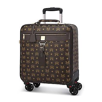 Rolling Luggage Spinner Studenti Password Valigia/bagaglio a mano Trolley Travel Bag
