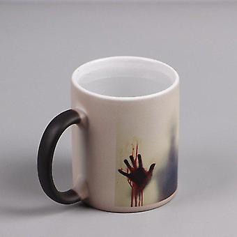 Blood Hand Color Changing Cup