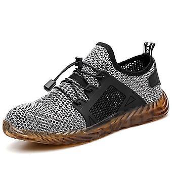 غير قابل للتدمير رايدر الرجال / النساء الصلب أصابع قدم الهواء أحذية السلامة تنفس أحذية